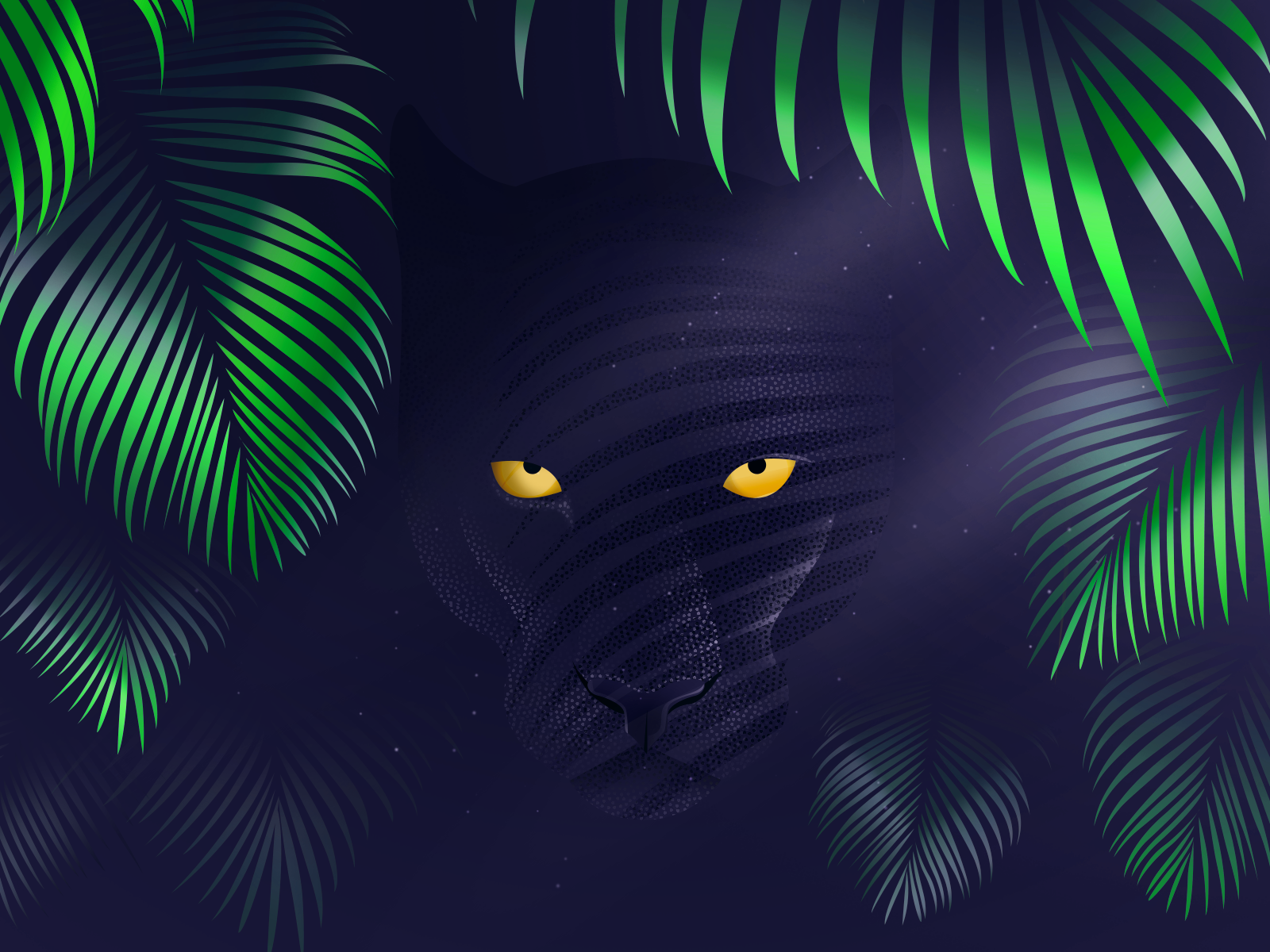 panther_wallpaper_ipad_by_lazymau